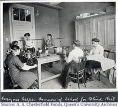 ladies sewing