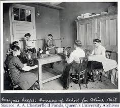 ladies sewing